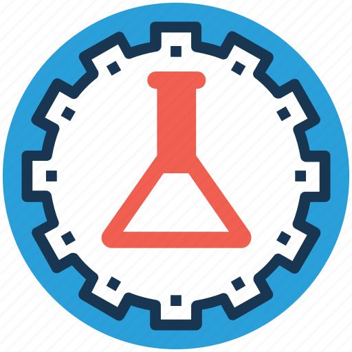 bear lab, chemical industry, lab management, scientific research, technology lab icon