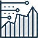 analysis, business analysis, graphic presentation, statistical analysis, statistics icon