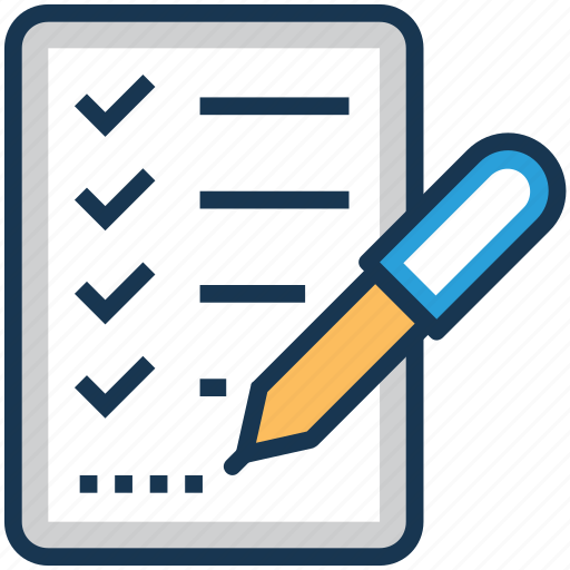 checklist, list, task, test, todo icon