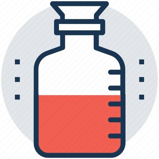 chemical bottle, chemical jar, chemistry, poison, toxin icon