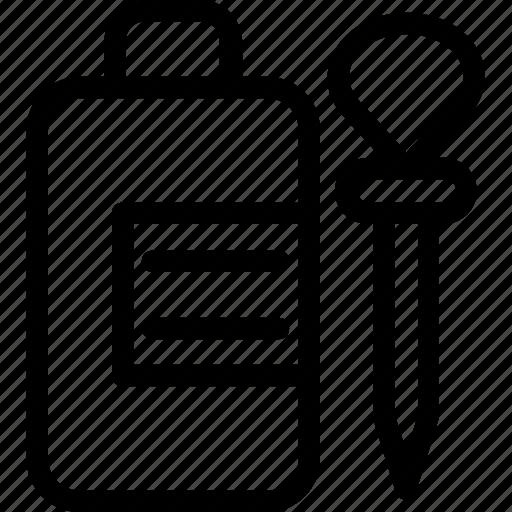 dropper, eyedropper, medicine, pharmacy, syrup icon