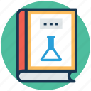 science and education, science informations, science knowledge, scientific book, scientific research icon