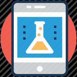 lab app, mobile app store, online laboratory, smart lab, smartphone application icon