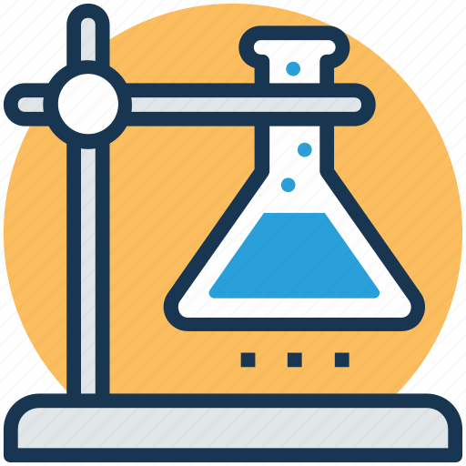 chemical science, lab test, science lab, science of matter, scientific research icon