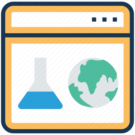 network science, online laboratory, scientific illustration software, scientific lab software, virtual physical lab icon