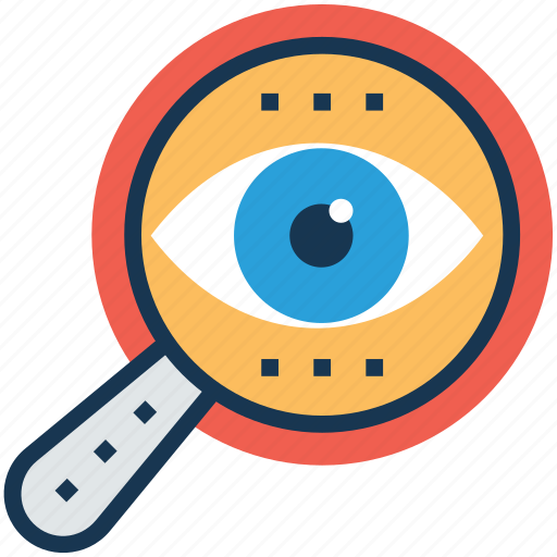 analysis, analytics, exploring, monitoring, research process icon