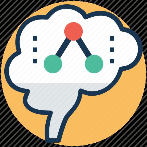 artificial intelligence, big data, expert system software, intelligent data, neural network icon