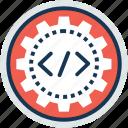 information technology, php development, software development, web development, web engineering icon