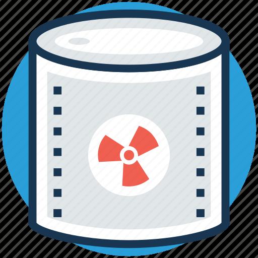 nuclear radiation, radiation, radioactivity, science, thermal energy icon