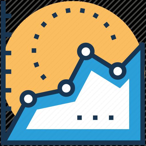 business analytics, business graph, graphic presentation, statistical analysis, statistics icon