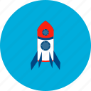 launch, machine, object, rocket, science, technology, universe icon