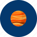 big, mars, object, planet, red, science, universe icon