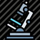 education, knowledge, logic, microscope, science icon