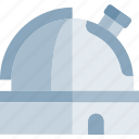education, knowledge, logic, observatorium, science icon