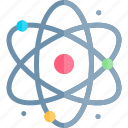 atom, education, knowledge, logic, science icon