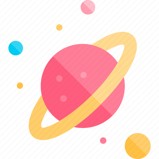 education, knowledge, logic, planets, science icon