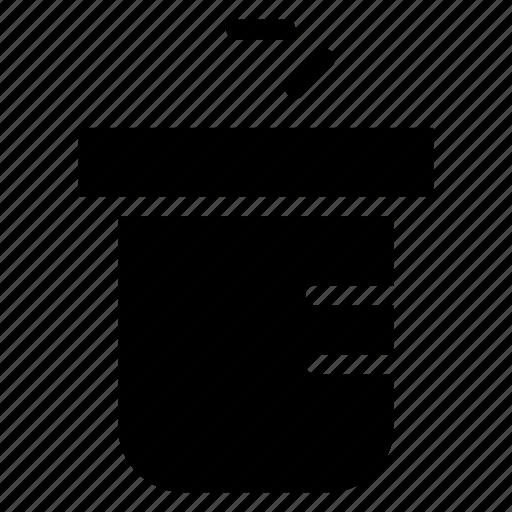 beaker, flask, lab, test icon
