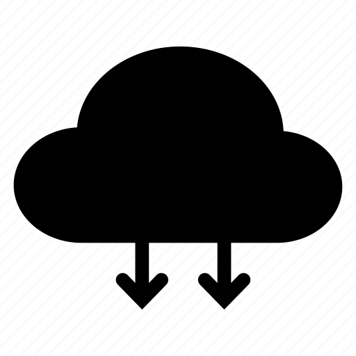 cloud, connection, download, network icon
