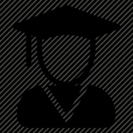 college, education, graduation, hat icon