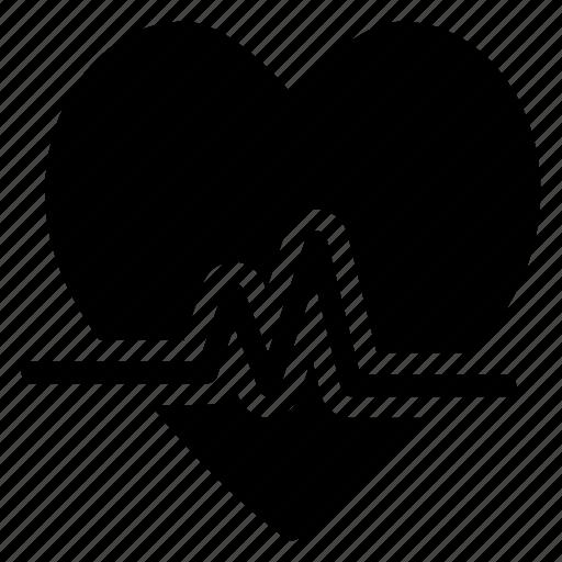 beat, health, heart, life icon