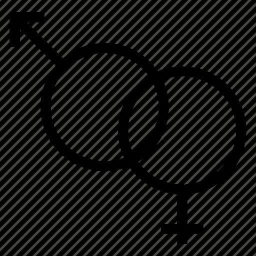avatar, female, male, user icon