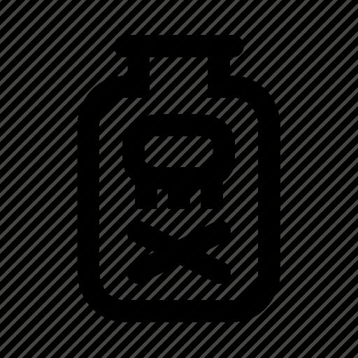 bacteria, germ, poison, toxin, venom icon