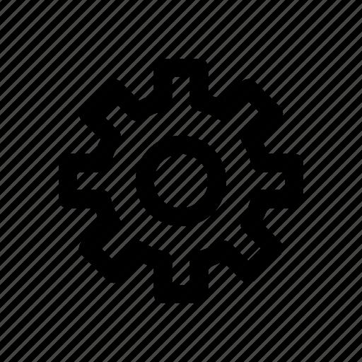 clog, gear, science, settings, wheel icon