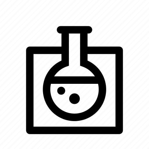 chemistry, experiment, flask, laboratory, science icon