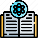 book, education, knowledge, logic, science icon