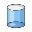 beaker, experiment, lab, practical, science icon