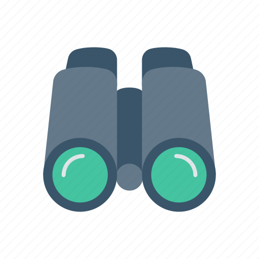 binocular, look, see, technology, view icon