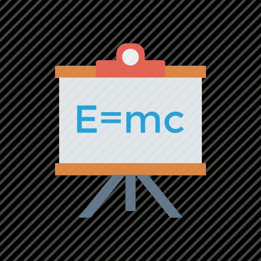 board, education, formula, science, teaching icon