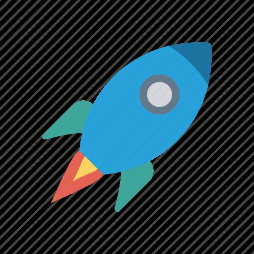 boost, rocket, speedup, startup, travel icon