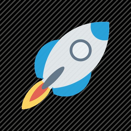 boost, launcher, rocket, speedup, startup icon