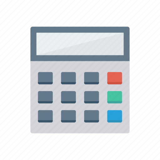 accounting, calculation, calculator, education, mathematics icon