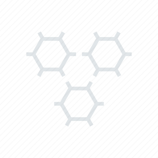 Science, cells, chemistry, molecules, atoms icon