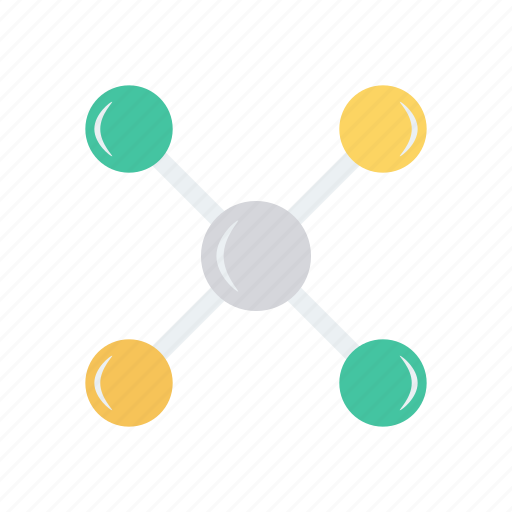 connect, connection, network, share, technology icon