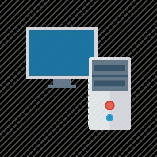 Computer, desktop, display, pc, screen icon - Download on Iconfinder