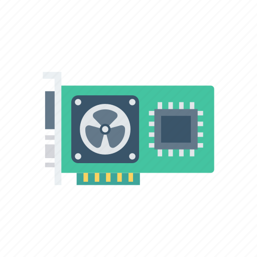 card, chip, graphic, hardware, technology icon