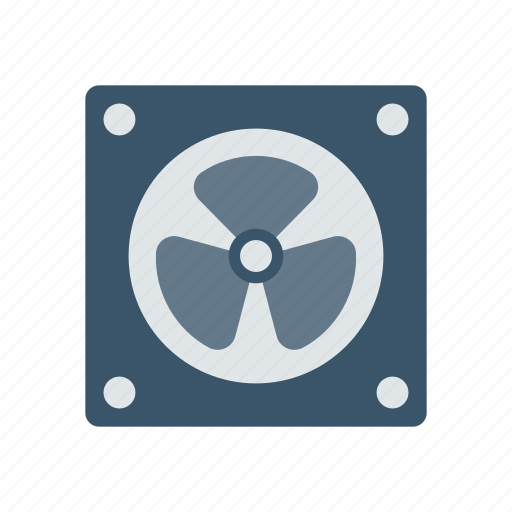 air, blower, cooling, fan, wind icon