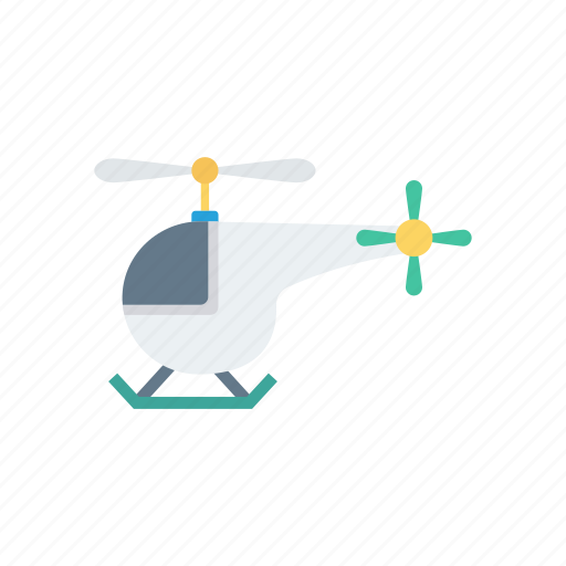 airways, chopper, fly, helicopter, transportation icon