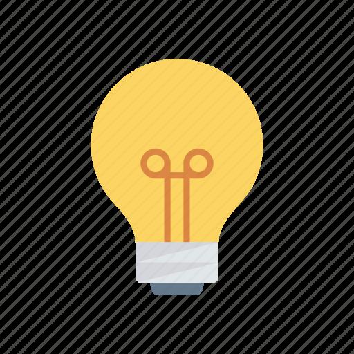 bulb, creativity, electricity, idea, light icon