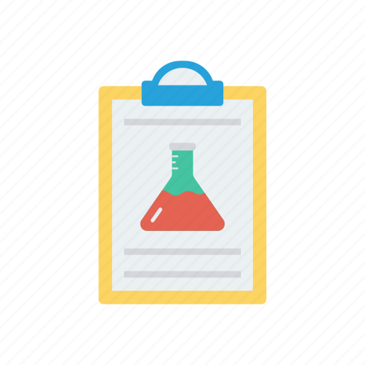 clipboard, document, lab, report, sheet icon