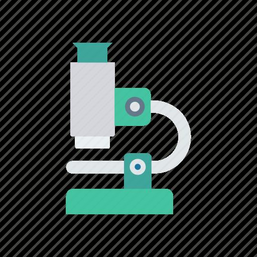 binocular, experiment, lab, microscope, science icon