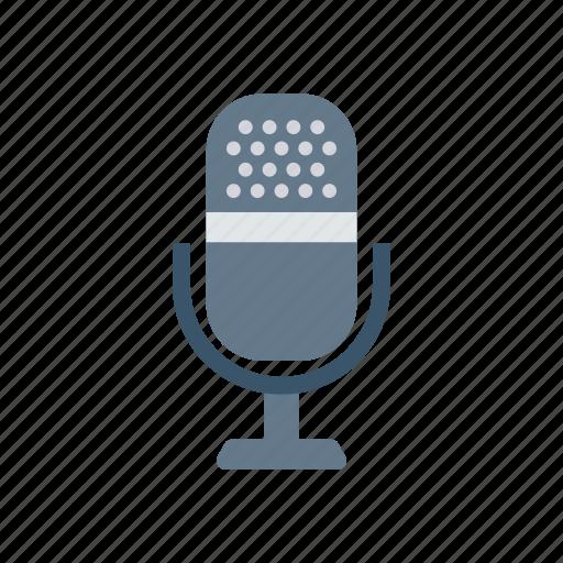 audio, mike, recorder, sound, voice icon