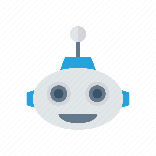 cute, machine, robot, science, technology icon