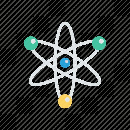 orbit, planet, science, space, universe icon