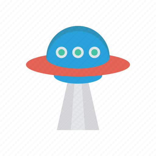 alienship, launch, spaceship, transport, travel icon
