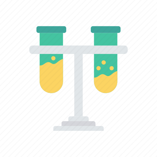 experiment, practical, stand, test, tube icon
