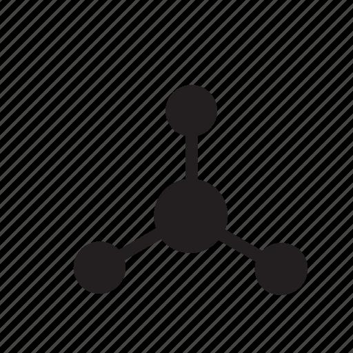 molecule, science icon